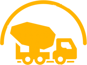 cement truck icon